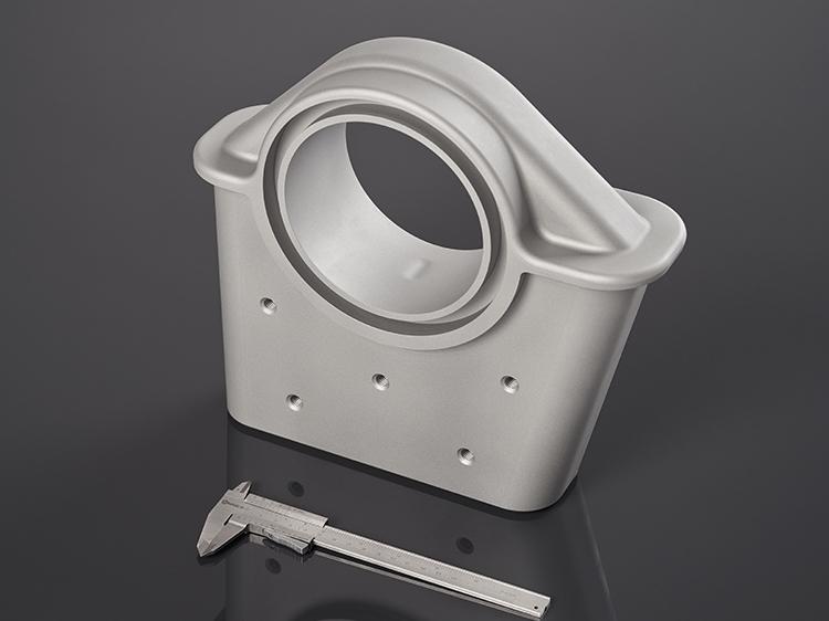 Irmscher Factory Produkte 5 Achs Frästeil Aluminium 1