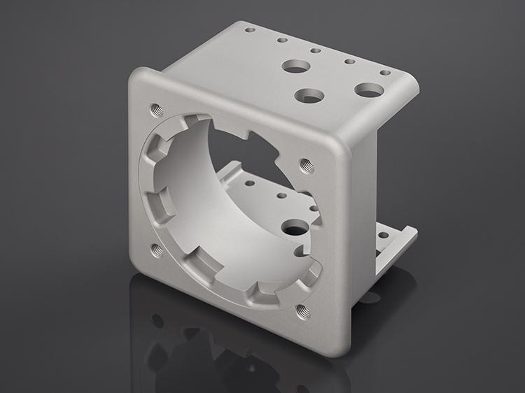 Irmscher Factory Produkte 5 Achs Frästeil Aluminium 2