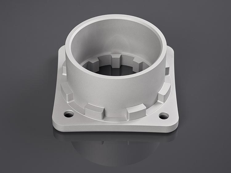 Irmscher Factory Produkte 5 Achs Frästeil Aluminium 3