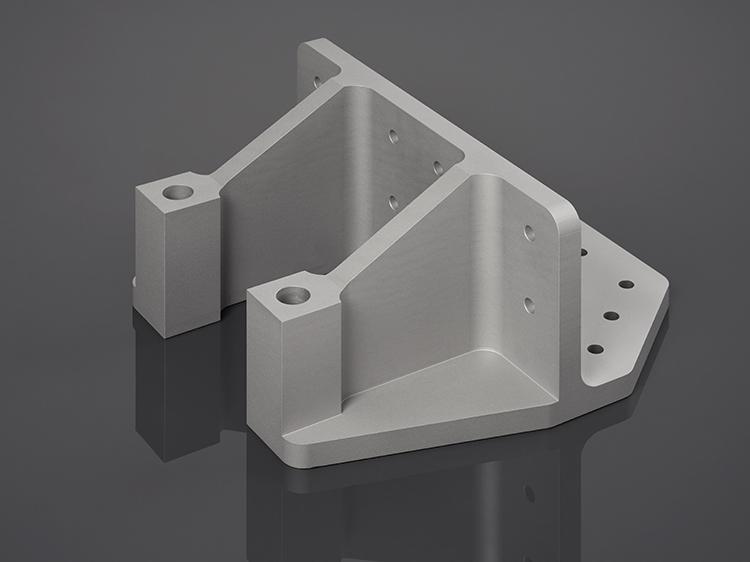 Irmscher Factory Produkte 5 Achs Frästeil Aluminium 4